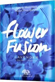 <b>Origins</b> Masks Sheet Mask <b>Flower Fusion Lavender</b> 34 g