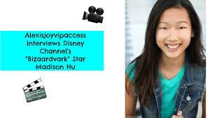disney channel s bizaardvark star madison hu interview disney channel s bizaardvark star madison hu interview alexisjoyvipaccess