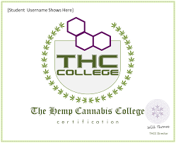 cannabis job certification thc college delivery service