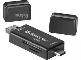 Купить <b>Карт-ридер Defender Multi Stick</b> USB 2.0 Type-A/B/C - SD ...