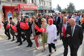 Atatürk'ün Bolu'ya gelişi kutlandı