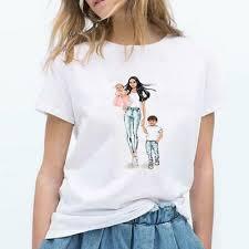 <b>Summer Hipster</b> Women T-<b>shirt</b> Mother's Day Cartoon Vogue Mom ...