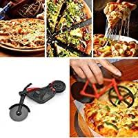 Motorcycle <b>Pizza Cutter</b>, Stainless Steel <b>Pizza Wheel</b> Cutter <b>Knife</b> ...