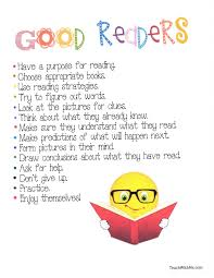 good readers anchor chart put in reading folder have kids good readers anchor chart put in reading folder have kids highlight their strengths and