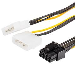 Купить Кабель <b>Atcom</b> PCI-E 8-pin - 2 x 3-pin <b>Molex</b> (AT8604) 0.15 м ...