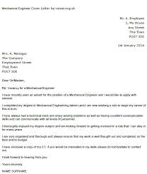 mechanical engineer cover letter pngcover letter entry level mechanical engineer      original