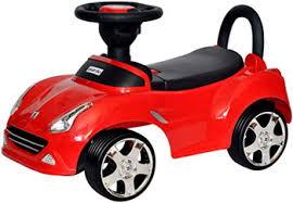 Автомобиль-<b>каталка Everflo Машинка</b> 613 красный ПП100004317