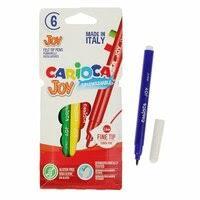 <b>Маркеры и фломастеры</b> 3044806 <b>Фломастеры</b> 6 цветов <b>Carioca</b> ...