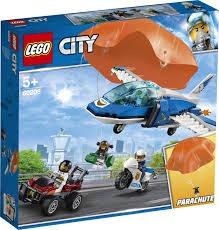 Конструктор <b>LEGO City</b> Police 60208 <b>Воздушная</b> полиция: арест ...