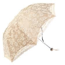 Women Sun Rain <b>Umbrella</b> Compact Lace <b>Three Folding Anti</b>-<b>UV</b> ...