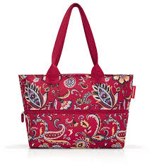 <b>Сумка reisenthel Shopper</b> E1 RJ3067 paisley ruby, текстиль ...