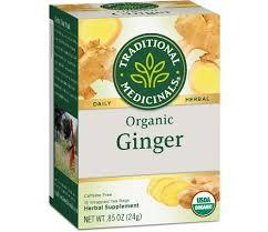 Traditional Medicinals <b>Herbal Tea Organic Ginger</b> -- 16 Tea Bags ...