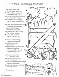 coloring page poems the darkling thrush by thomas hardy coloring page poems the darkling thrush by thomas hardy