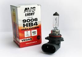Автомобильная галогенная <b>лампа AVS Vegas HB4</b>/9006.12V.55W ...