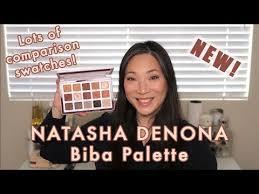 <b>NATASHA DENONA</b> - NEW Biba Palette - First Impressions - YouTube