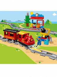 Конструктор <b>Поезд на</b> паровой тяге 59 дет. 10874 <b>LEGO Duplo</b> ...