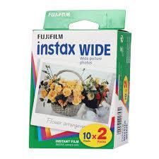 Фотобумага <b>Fujifilm</b> Instax Wide <b>Glossy</b> Double pack (<b>10</b>/<b>2PK</b>)