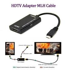 <b>gocomma</b> MHL Adapter <b>Micro USB</b> To HDMI Cable for Phone Tablet ...