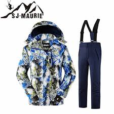 Winter Snowboarding Sets <b>Kids Skiing Jacket</b>+<b>Pant</b> Snow Suit ...