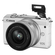 Цифровой <b>фотоаппарат Canon EOS M200</b> kit 15-45 IS STM White ...