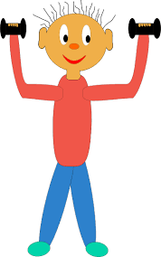 Image result for kid exercise clip art