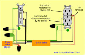 switched outlet wiring diagram wiring diagram wiring diagrams to add a receptacle outlet do it yourself help switch 3 way