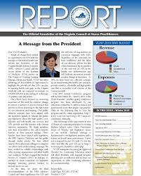 the official newsletter of the virginia council of nurse advancing health