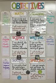 best ideas about objectives board learning teacher desk organization