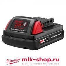 <b>Аккумулятор</b> Milwaukee RED <b>M18</b> B <b>1.5</b> Ач 4932352667 ...