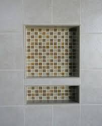 bathroom niches: completed niche in shower wall bathroom ideas pinterest ceramics moldings and sweet home