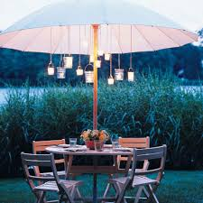 patio umbrellas lights