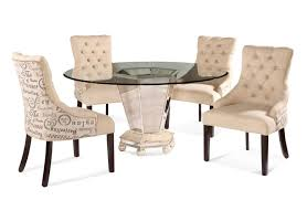 round back dining chairs dining room modern leather brown contemporary dining chairs