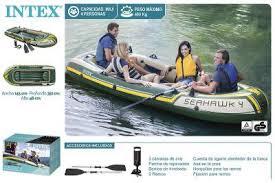 Надувные лодки Intex Seahawk, Excursion и другие модели с ...