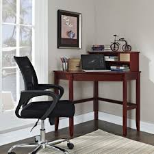 marvelous small space room design for bedroom and home office decoration with wheel black office chair including dark walnut corner desk and black wood bedroom marvellous leather office chair decorative