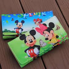 Disney <b>Mickey mouse Cartoon women</b> plush Purse pu Coin with ...