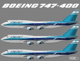 gambar bbm bergerak el al airlines boeing 747 400 juergen s paint hangar