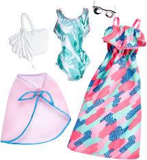 Barbie Аксессуар для кукол Универсальные наряды 2 комплекта ...