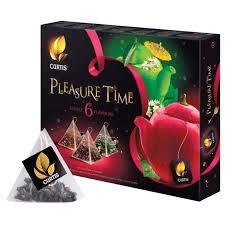 """Купить <b>Чай CURTIS</b> (Кёртис) """"Pleasure Time"""", набор 30 ..."""