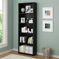 walmart office furniture. walmart office furniture wooden bookcase in cool black color option with wall art plus glass window e