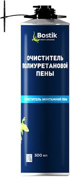 """<b>Очиститель</b> полиуретановой <b>пены</b> """"<b>Bostik</b>"""", <b>500 мл</b> — купить в ..."""