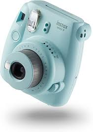 <b>instax Mini</b> 9 Camera with 10 Shots - Ice <b>Blue</b>: Amazon.co.uk ...