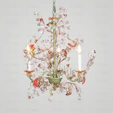small bathroom chandelier crystal ideas: pastoral  light botanical crystal small bathroom chandeliers