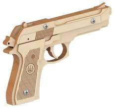 <b>Сборная модель Древо</b> Игр Резинкострел Беретта (DI-P003 ...