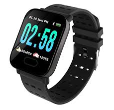 Hoteon <b>A6</b> Fitness Tracker HR, Activity Tracker with <b>Heart</b> Rate ...