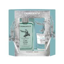 L'Òme Blue <b>Cedar</b> Gift Set for Men | <b>Durance</b> UK
