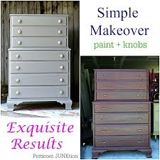 paint and new knobs make a statement on furniture makeover petticoat junktion bedroom furniture makeover