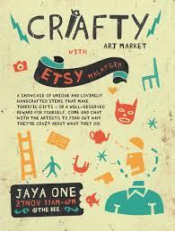 Etsy Art Crafty Art Market With Etsy Malaysia Etsy Malaysia Local Team Blog