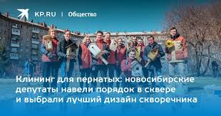 Клининг для пернатых: новосибирские депутаты навели порядок ...