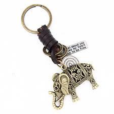 4.8*3.8CM <b>Original</b> 3D Hollow Elephant <b>Key</b> Chains Punk Vintage ...