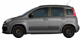 Wheels on the Fiat Panda 1.2 Multijet